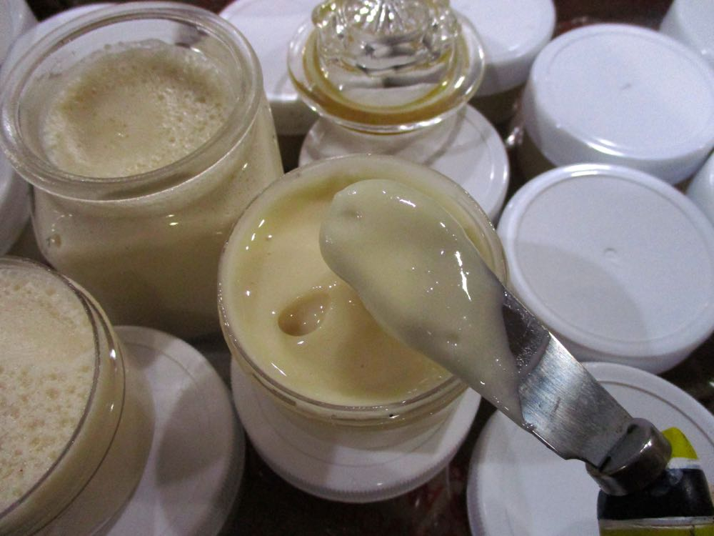 Creamed honey becomes solid, is not sticky and ships easily, a must for my gifts.