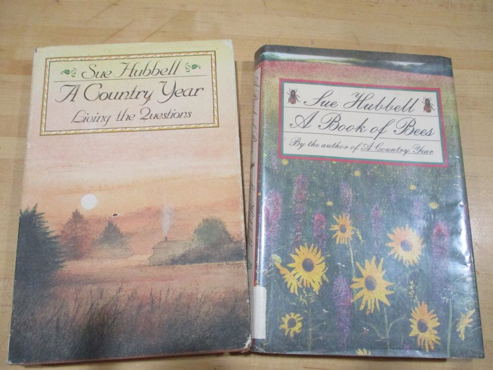 Two of Sue Hubbell books that would make wonderful Christmas gifts.