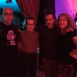 Miguel Noya, Stephen Hill, Paul Godwin, Ameera