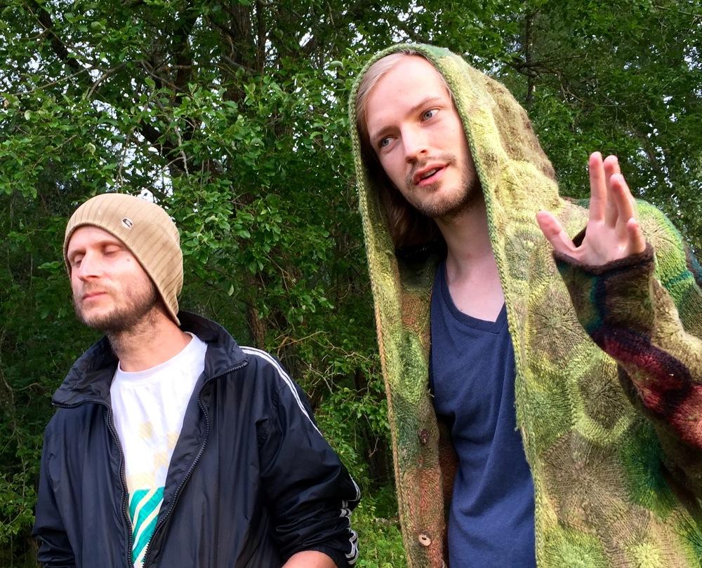 Kukemuru Ambient Festival  founders, Kaido Kirkmae and Sander Meentalo.