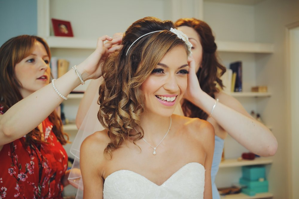 A Little Picture Wedding Photography bride hair
