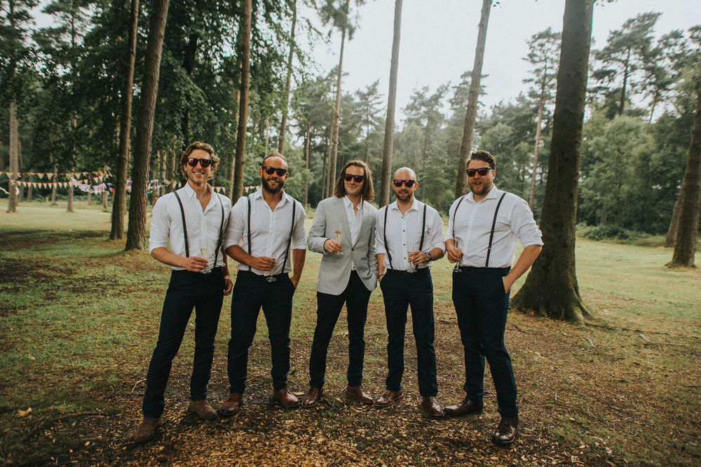 boho wedding woods wild natural photographer