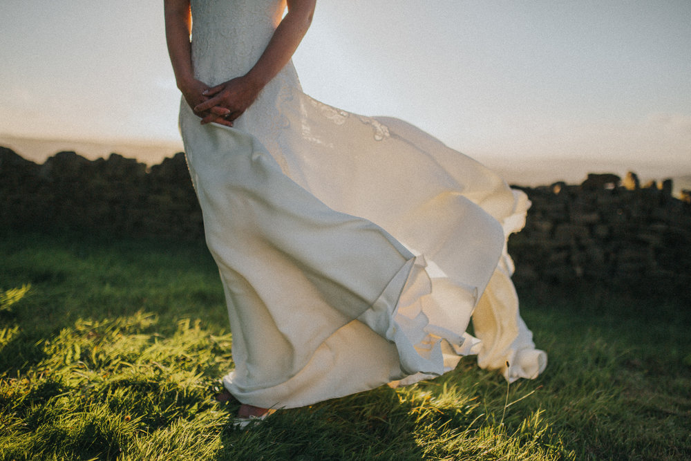 A Little Picture Wedding Photography bride dress
