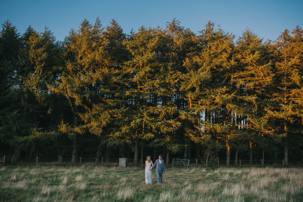 A Little Picture Wedding Photography woods