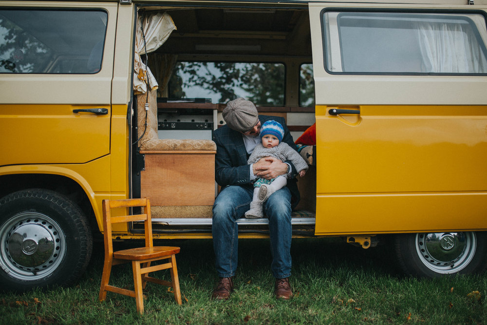 A Little Picture family photography york camper van
