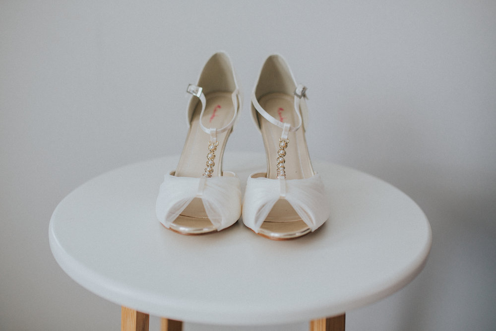 A Little Picture Wedding Photography brides shoes