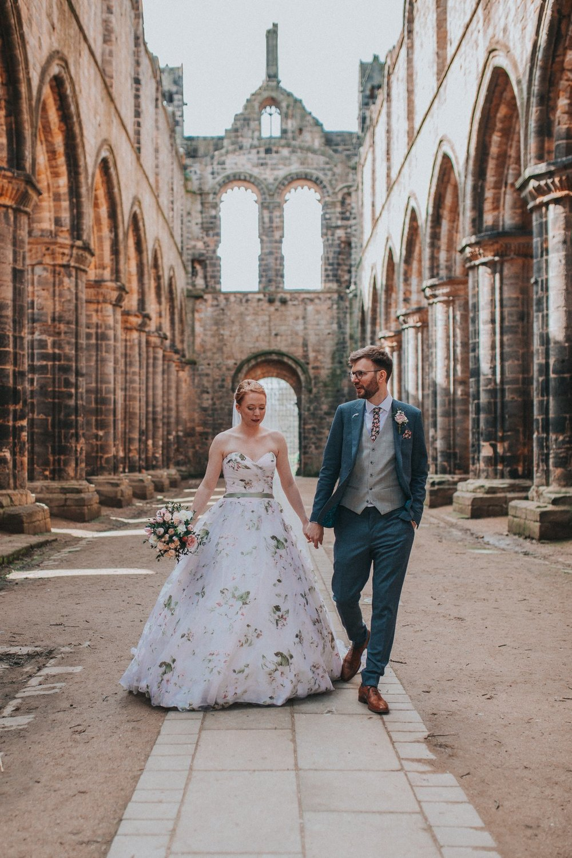 Kirkstall abbey alternative wedding photographer budget