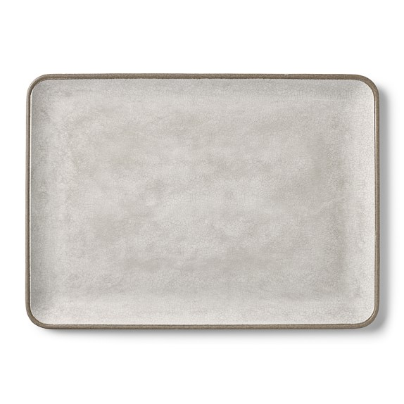 williams sonoma STONERIDGE MELAMINE PLATTERS   18 x 13 serving platters   $3.50 per platter