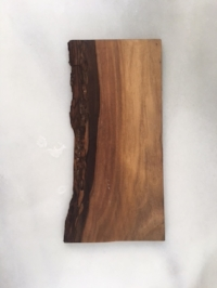 miller dohrmann farm small black walnut board   11.5 x 5.5 inch  $5