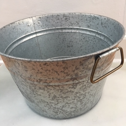 metal bucket  s   9 x 11 x 15 inch metal bucket  $8.25 (2 available)