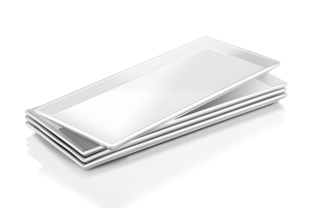 "14"" Porcelain Rectangular Serving Platter  $0.00 (32 available)"