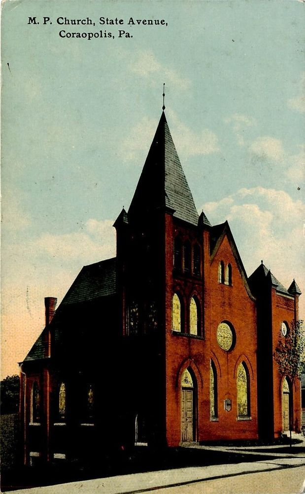 Prior church at the intersection of State Ave and Fleming St