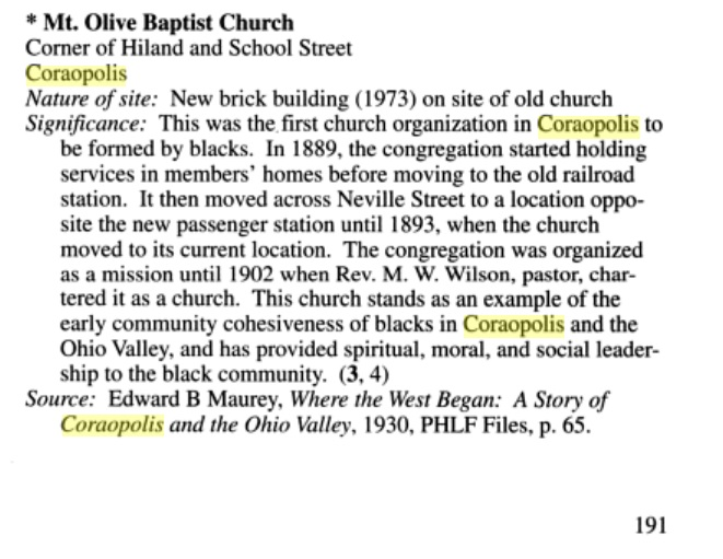 Mt Olive Baptist Church - African American Historic Sites by Eliza Smith Brown.jpg