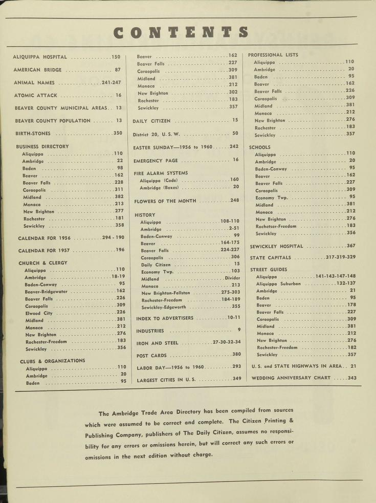 The Daily Citizen 1956 Trade Area Directory CONTENTS.jpg