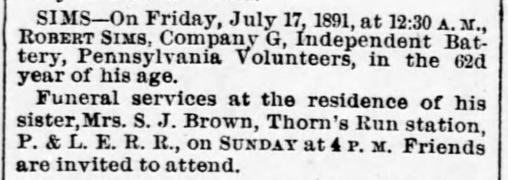 Pittsburgh Dispatch, Saturday, July 18, 1891
