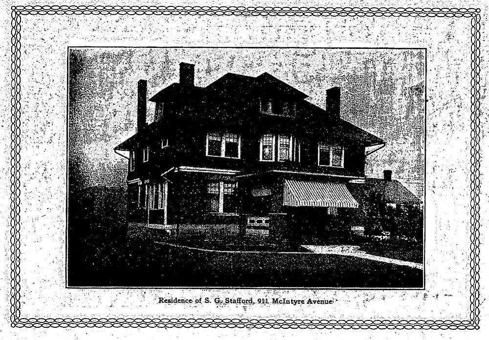 911 McIntyre Ave  - SG Stafford Residence