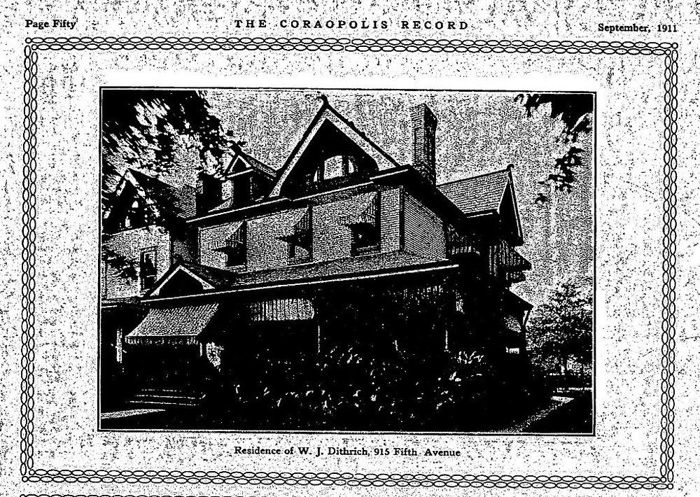 915 5th Ave  - WJ & Ellen Dithrich Residence