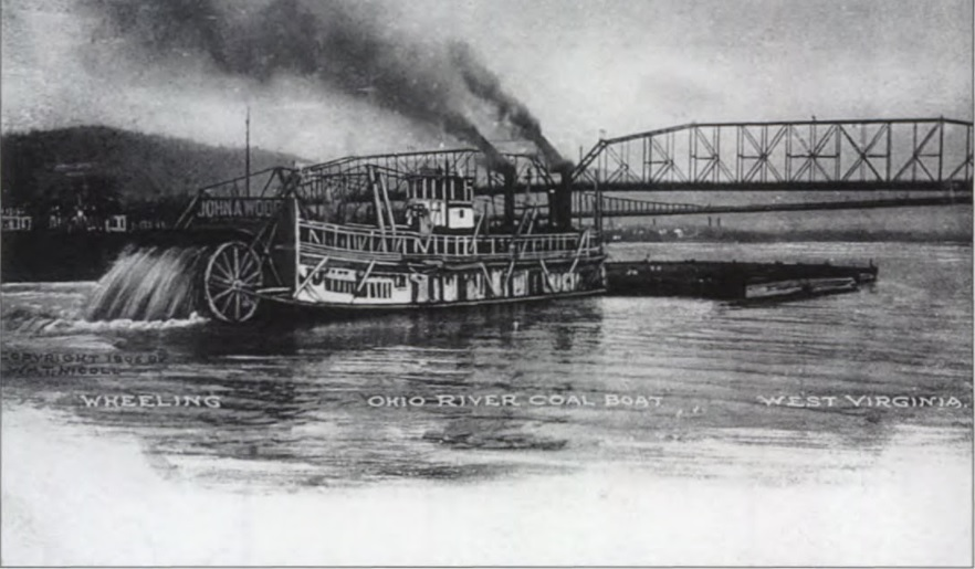 The  John A. Wood  Riverboat