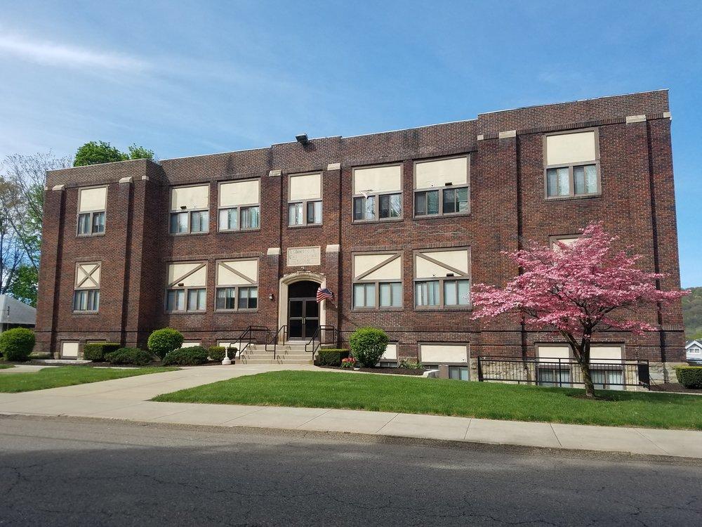 Coraopolis High School on State Street, NOW.jpg