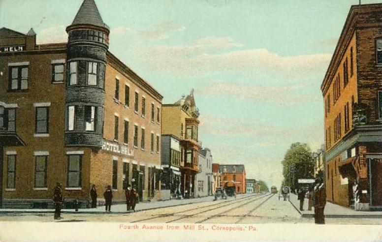FourthAvenueFromMillSt 1910.jpg