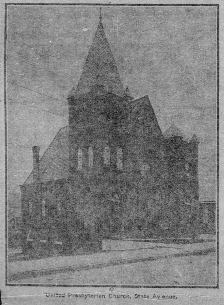 First United Presbyterian Church, State Ave, 1907.jpg