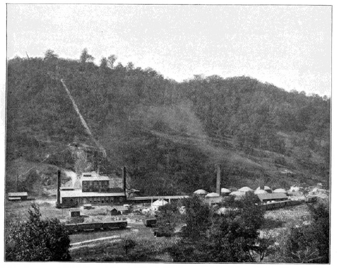 Fallston Fire Clay Co. in abt 1895