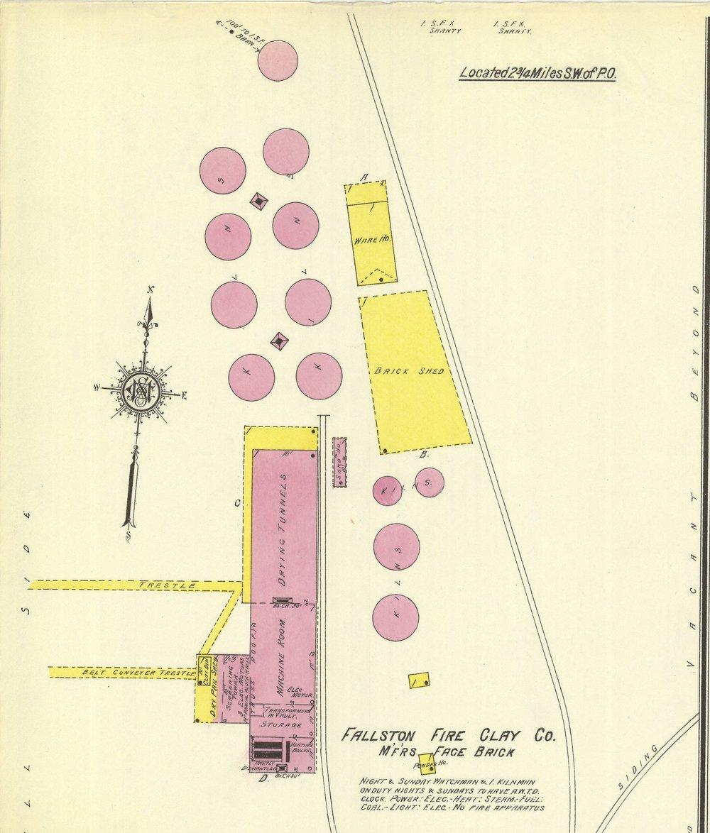 1913 Sanborn Map, New Brighton