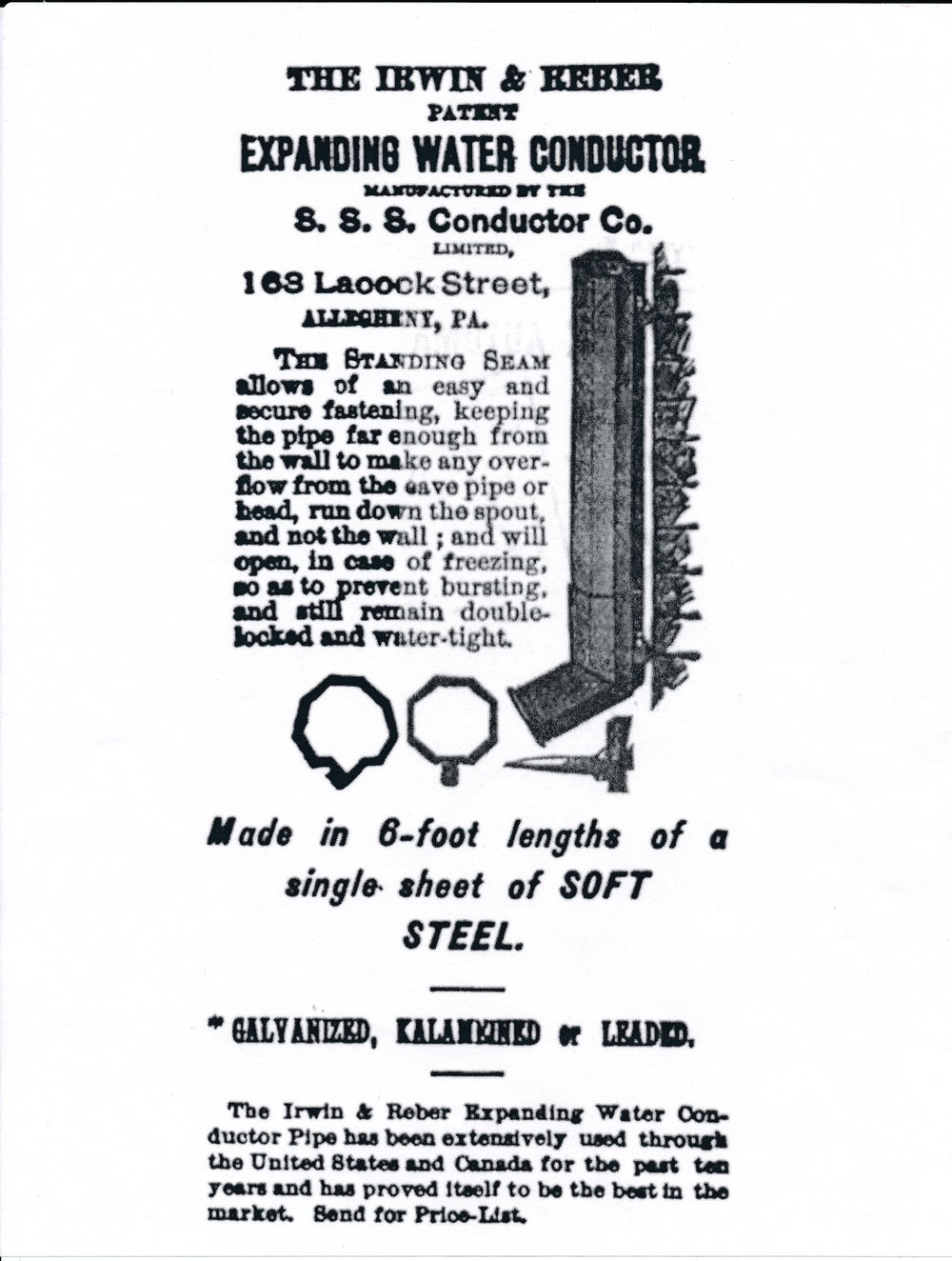 Ad from PHLF Vertical File