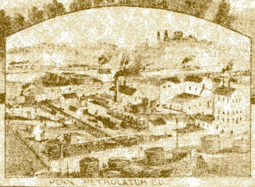 T.M. Fowler's 1900 Panoramic Map of Coraopolis