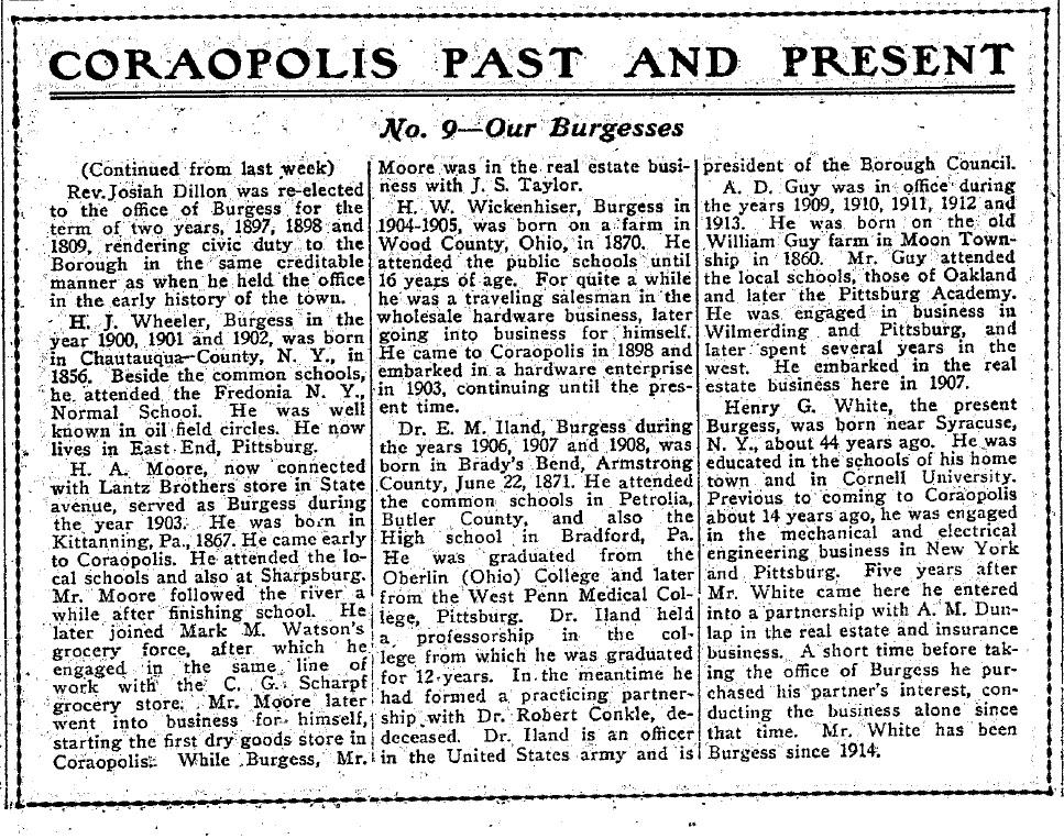1917-07-13 The Coraopolis Record