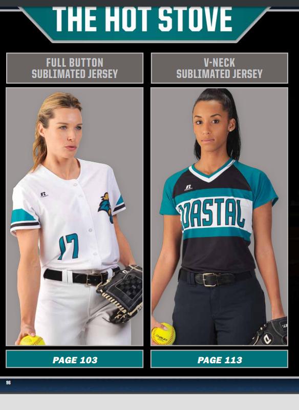Softball Sublimated Uniforms