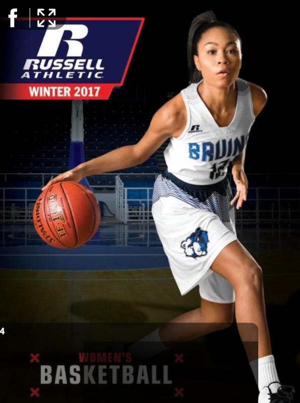 Russell Women's Basketball catalog 2017-18