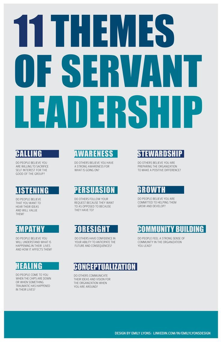Servant leadership was who I was looking for all along.....