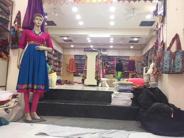 Ganga Prasad Textile Shop in Loi Bazar Market