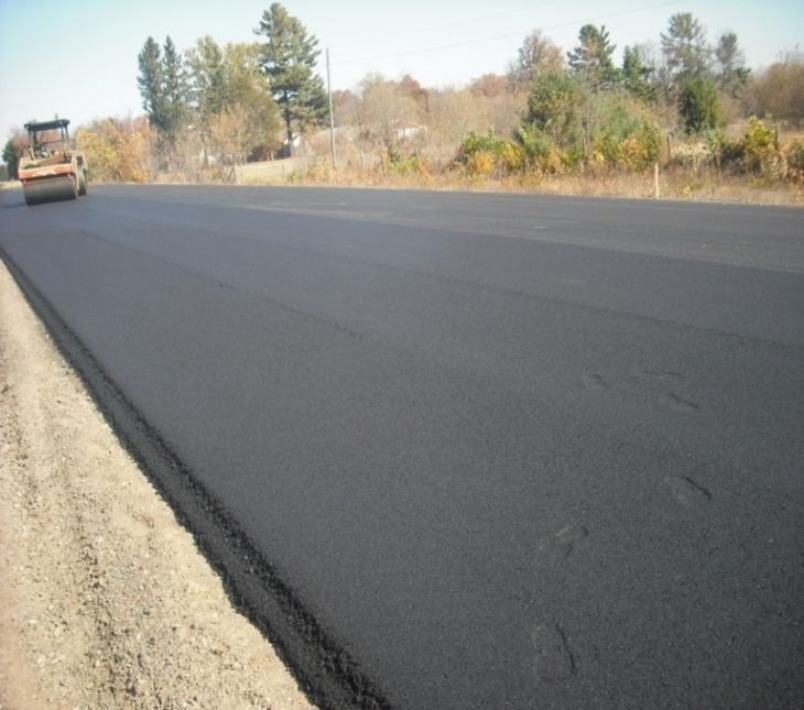 Cargill's Wisconsin Highway 55 PG Modifier project.