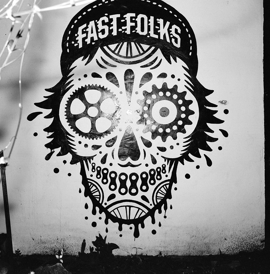 Fast Folks Cyclery, First location, Austin, TX