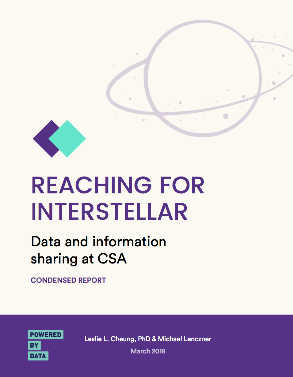 CSA Report Cover