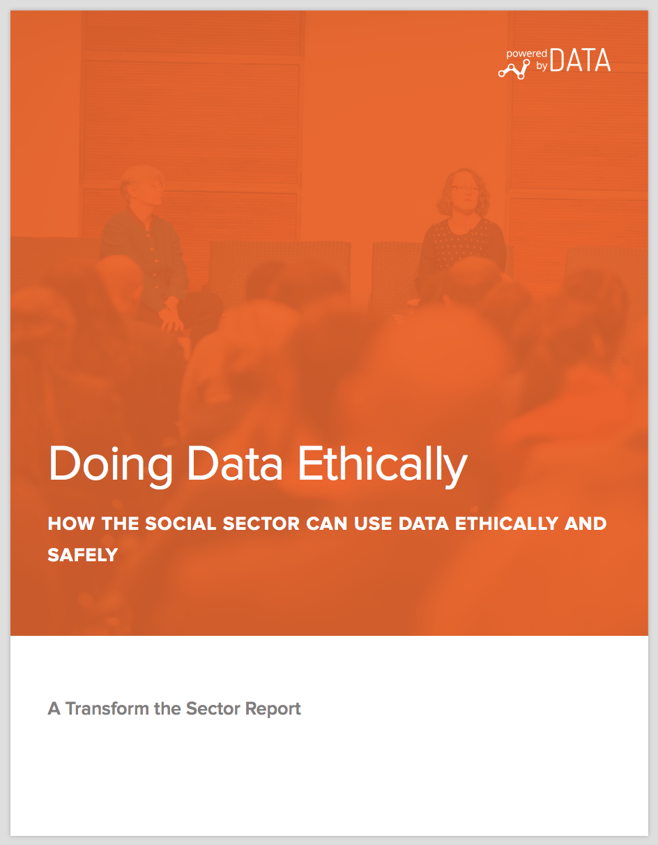 Doing Data Ethically Cover