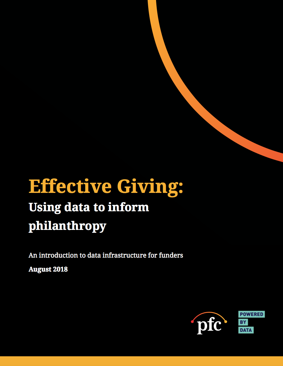 PFC Data Grantmaking Cover