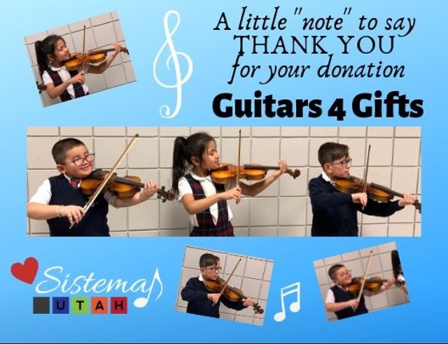 Music is a vital part of every child's education. Let's make sure everyone has access to a musical instrument! • • • • #elsistema #violins #viola #studentmusician #socialchange #musiceducationmatters #utah #guitars4gifts