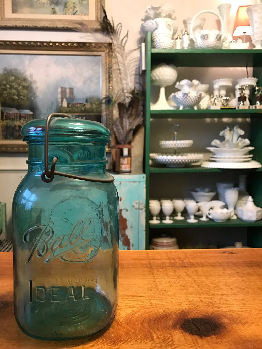 Vintage Ball Jar, An Estate Sale Find.