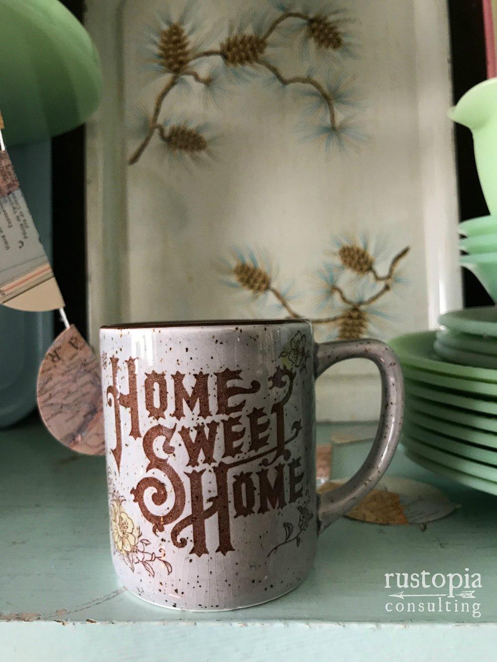 Home Sweet Home Mug    RustopiaConsulting.com