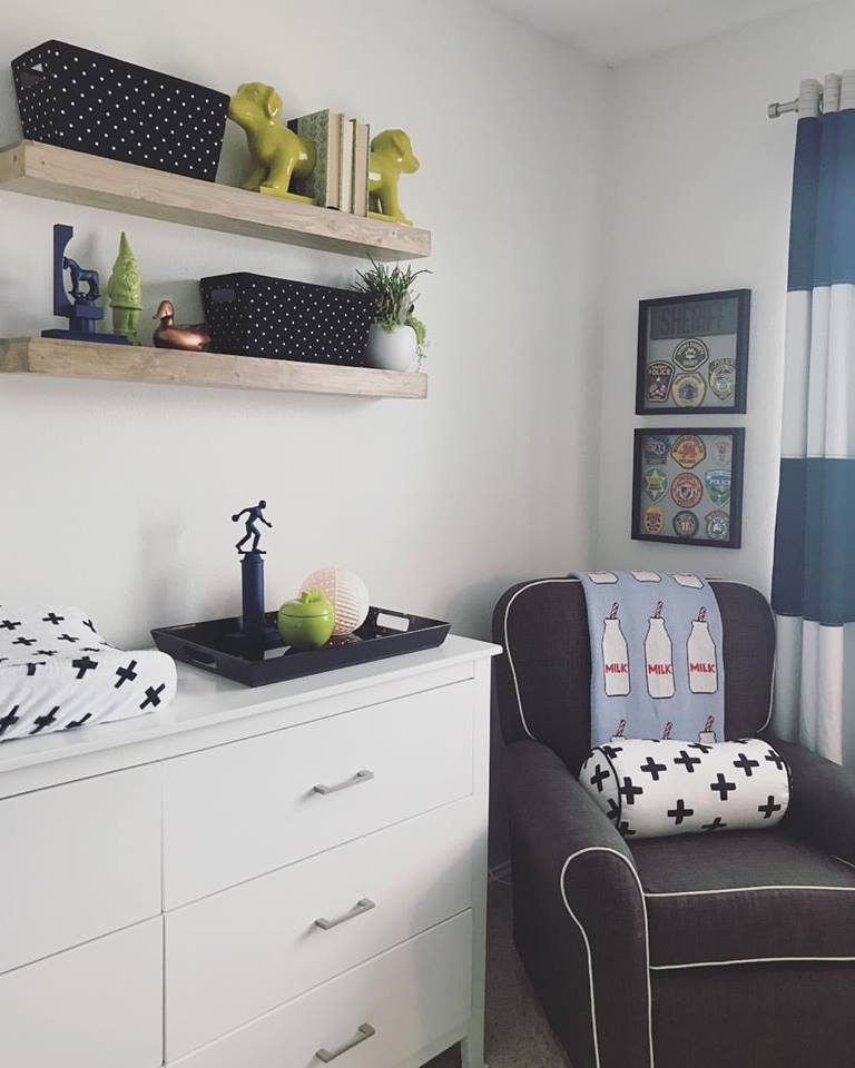 Modern boy nursery design by H.Prall & Co. | hprallandco.com