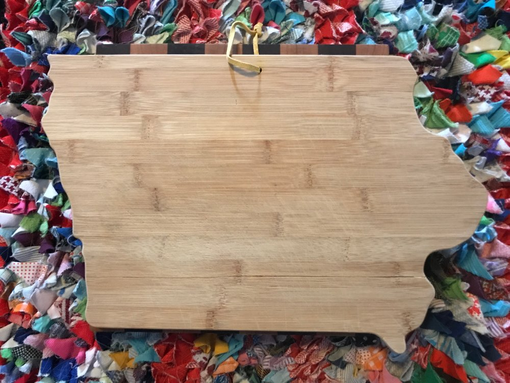 Wood Cutting Board via  Hprallandco.com