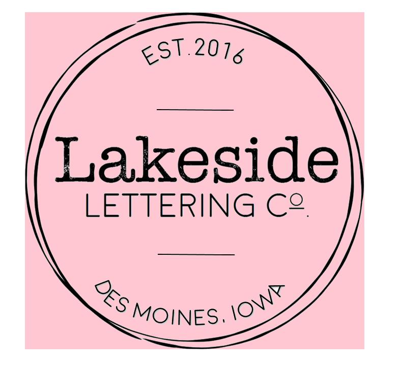 Lakeside Lettering