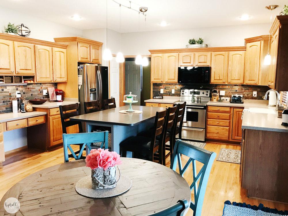 Kitchen + Island Styling via H.Prall & Co. | hprallandco.com