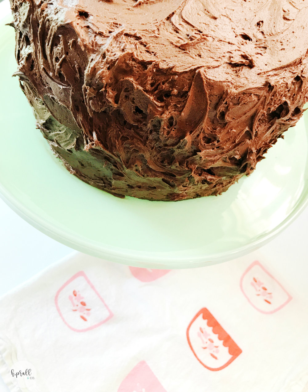 Triple Layer Chocolate Cake from H.Prall & Co. | Interior Decorating Blog | hprallandco.com