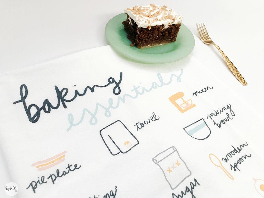 Cake Recipe from H.Prall & Co. | hprallandco.com