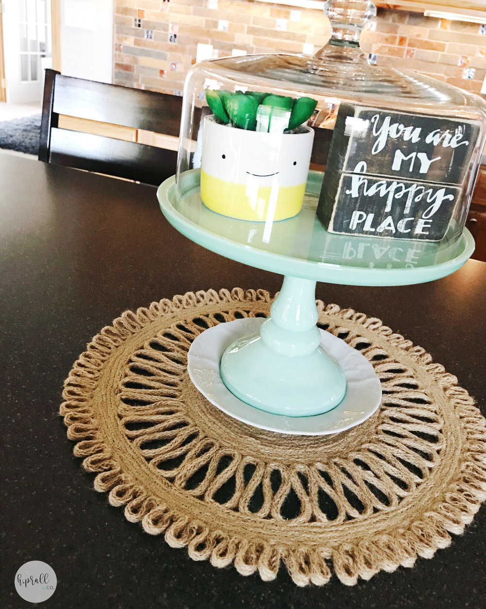 Tips for using a cake stand to elevate decor by hprallandco.com | H.Prall & Co. Interior Decorating in Des Moines, IA