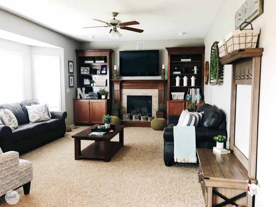 Living Room Styling from H.Prall & Co. Interior Decorating in Des Moines, IA